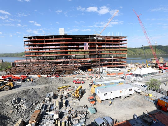 Construction at Vassar Brothers Medical Center in the