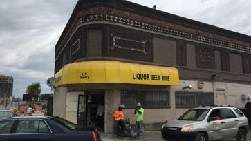 Party store in shadow of new arena sells for $3.2M