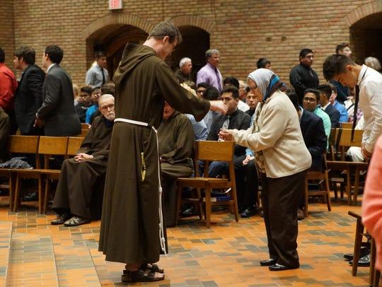 Mass was celebrated at St. Lawrence Seminary in honor