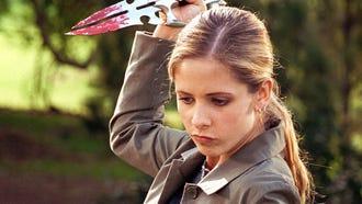 "Sarah Michelle Gellar in ""Buffy the Vampire Slayer."""