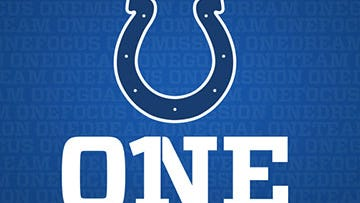 """The Indianapolis Colts launched a new marketing campaign Thursday. Simply the word """"One."""""""