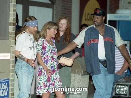 The day Axl Rose came to town