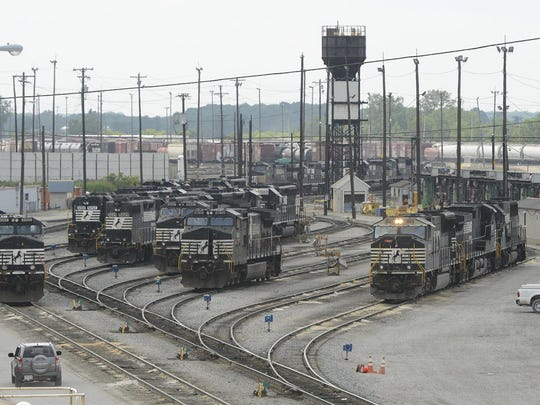 Norfolk Southern rail yard, Bellevue.