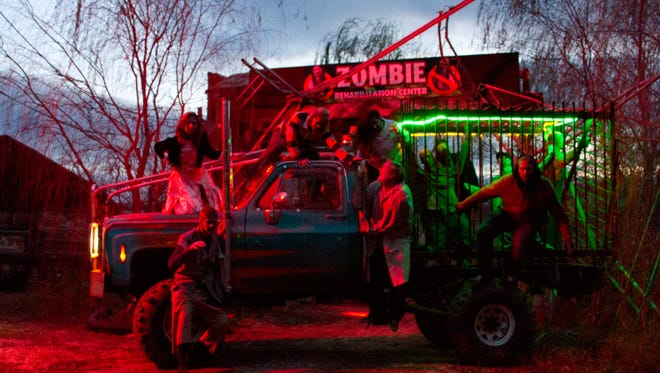 Creamy Acres Farm in Mullica Hill attracts thousands of thrill seekers with its Night of Terror attraction.