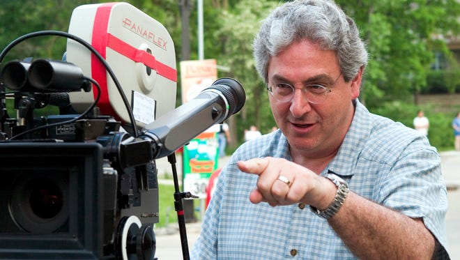"Actor, writer and director Harold Ramis has died at age 69. This photo is from the set of ""The Ice Harvest"" in 2005."