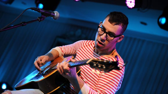 Musician Jack Antonoff of the band fun. performs in New York last year. His new band Bleachers will perform at Firefly Music Festival this summer.