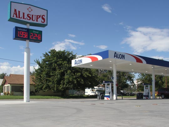 Gas prices across Carlsbad were posted under $2 per