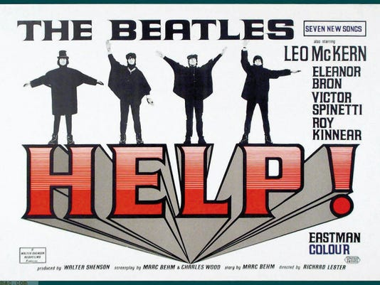 """The Beatles' 1965 film """"Help!"""" will be among the music-themed films shown at the festival. """"Help!"""" will be screened at 7 p.m. Aug. 12."""