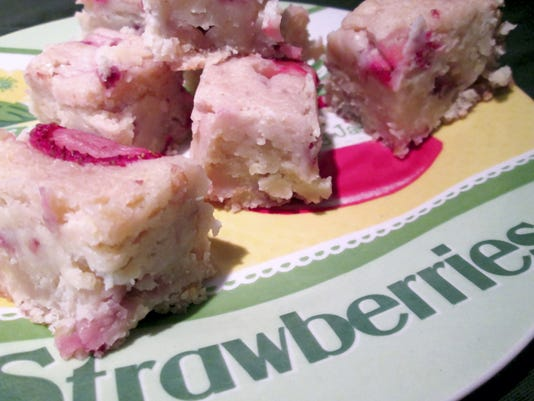 We're less than two months from strawberry season in York County. It's time to gather the recipes you want to make when the berries are ripe — like these strawberry lemon bars.