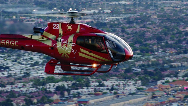 Papillon Grand Canyon Helicopters is selling flights from Scottsdale to Glendale for Super Bowl XLIX.
