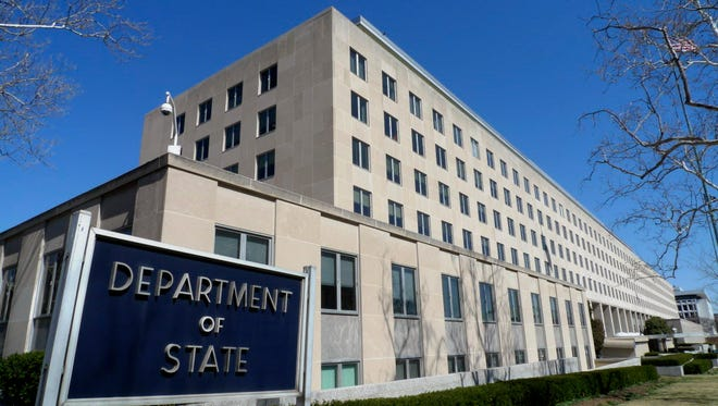 State Department headquarters in Washington.