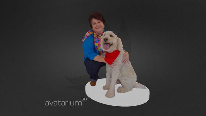 Figurines 4- to 12-inches high can be made of people or pets at Avatarium, a 3D modeling and digital asset studio in De Pere.