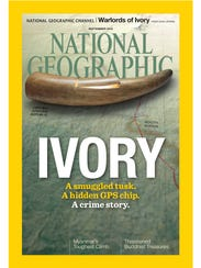 The September issue of 'National Geographic' magazine.