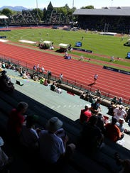 The U.S. Olympic Trials for track and field at Hayward