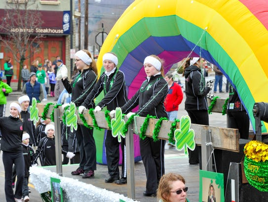 This year's 13th annual Horseheads St. Patrick's Parade