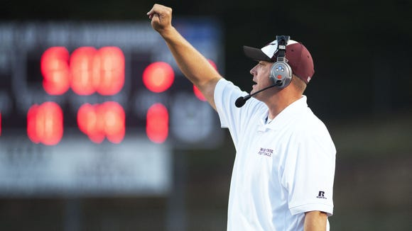 Owen football coach Nathan Padgett and the Warhorses will host a free youth football camp next month in Black Mountain.