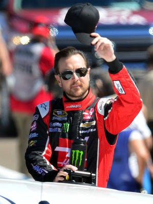 Kurt Busch returned to the track last weekend at Phoenix International Raceway for his first race of the season.