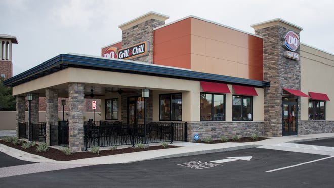 The new Dairy Queen Grill & Chill at 20 Daniel Drive in Gulf Breeze opens on Monday, May 28, 2018.