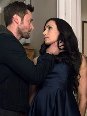 Tom Keen (Ryan Eggold) is joining the family mercenary business  with his biological mom (Famke Janssen) in NBC's 'The Blacklist: Redemption.'