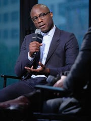 """Director Barry Jenkins attends The Build Series Presents The Cast Of """"Moonlight"""" at AOL HQ on October 21, 2016 in New York City."""
