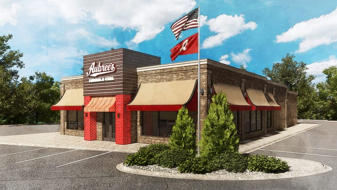 A rendering of the new Aubree's Pizzeria and Grill coming to the former Ruby Tuesday at 37300 Warren in Westland. The other area location, 20420 Haggerty in Northville Township, closed New Year's Eve.