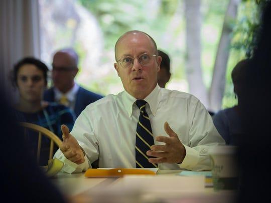 Robert Merriam, a member of the Marijuana for Symptom