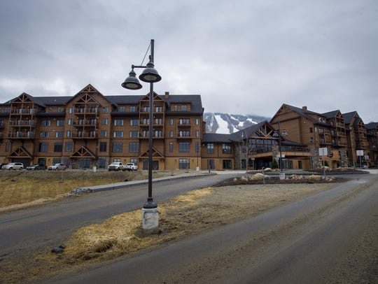 The Q Burke Resort in East Burke sits completed but