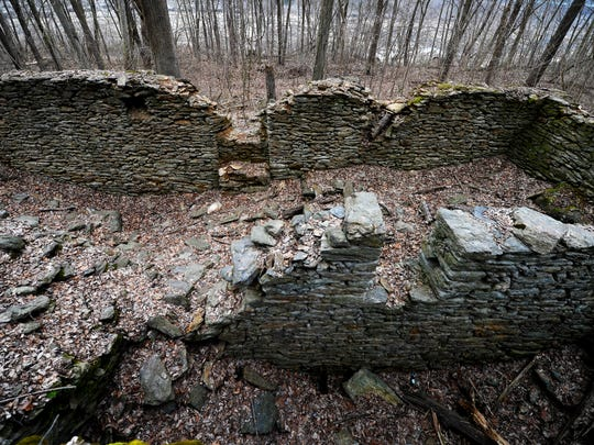 Ruins of a mill on the Mason-Dixon Trail in Lower Chanceford Township, a great place for exploring.