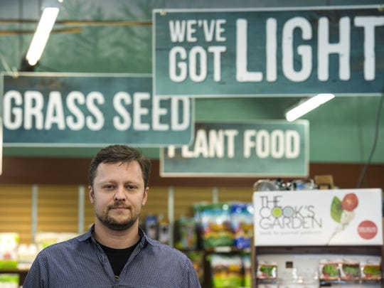 Dylan Raap of Green State Gardener, which sells cannabis