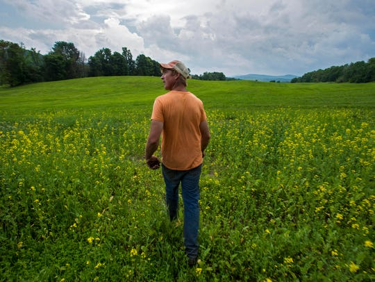 Farmer James Coe looks back at Andersonville Farm's
