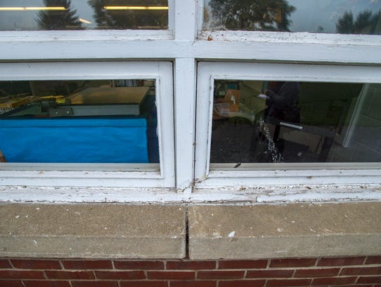 Decades-old originally-installed windows the Williston