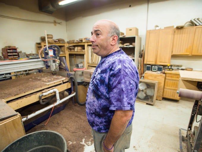 David Glickman, owner of The Vermont Butcher Block