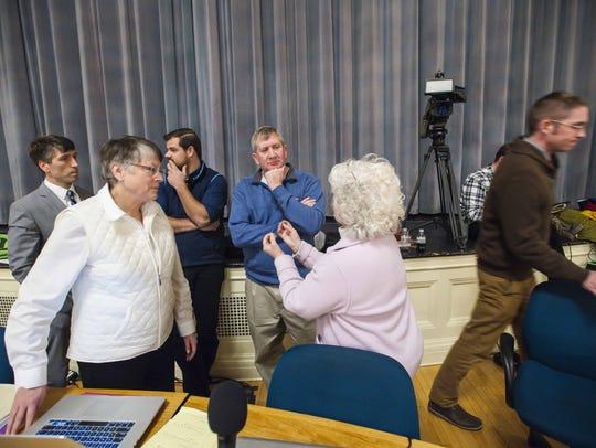 Burlington city councilors argue among themselves during