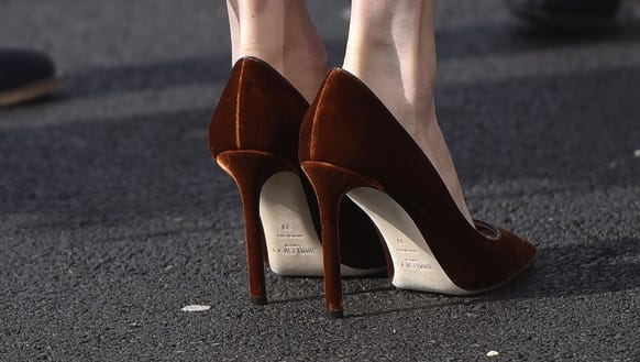The shoes that have rendered us speechless.