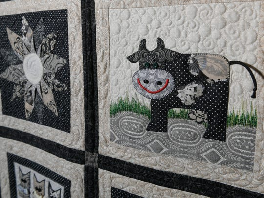 Connie Little is the chair of the Quilting Division
