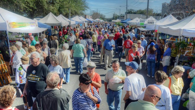 The annual Kumquat Festival draws thousands to quaint Dad City.