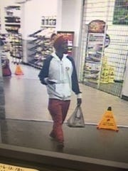 The Lee County Sheriff's Office released this photo of a suspect in a home invasion robbery Saturday in Lehigh Acres.