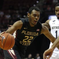 Xavier Rathan-Mayes was FSU's third-leading scorer with 11.8 points per game last season. He plans to enter the NBA draft, but will not hire an agent.
