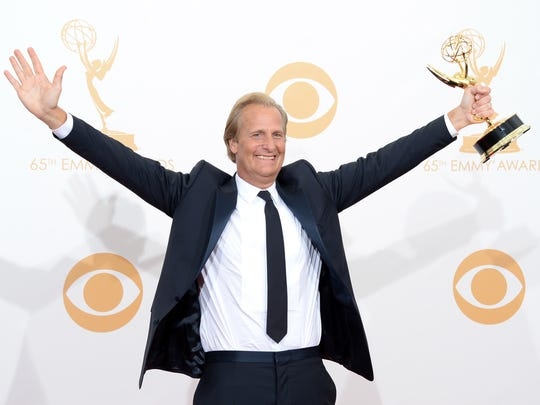 "Jeff Daniels took home an Emmy Award for his role as Will McAvoy on HBO's ""The Newsroom"" in 2013."