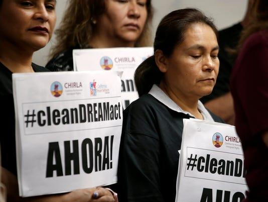 EPA USA DACA PRESS CONFERENCE CLJ HUMAN RIGHTS USA CA