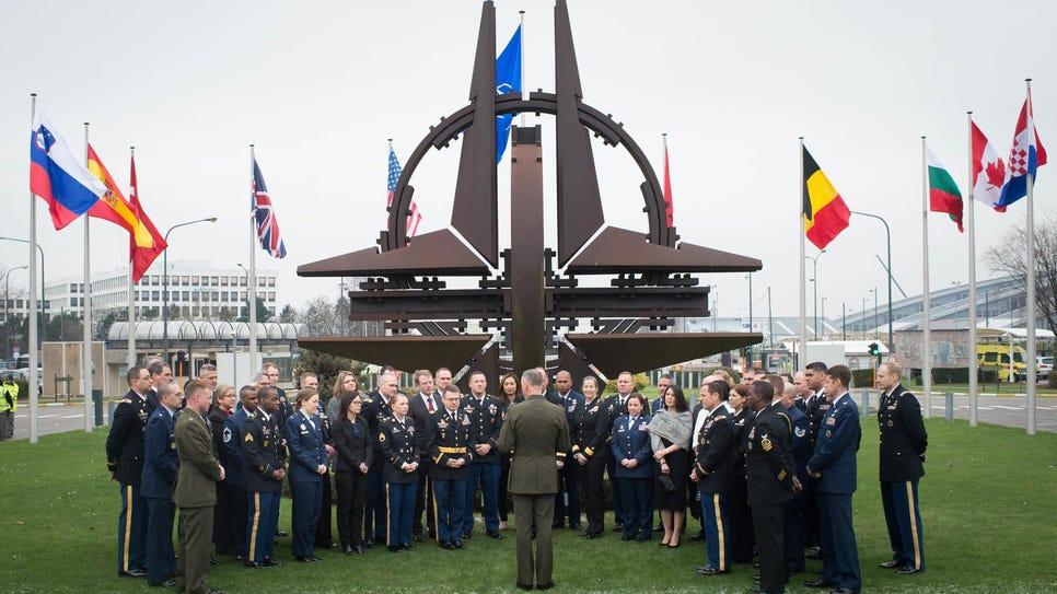 CJCS NATO visit