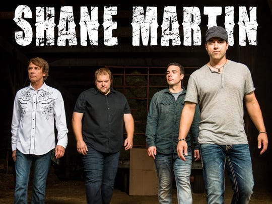 Shane Martin will perform at Summertime by George! from 6:30 p.m. to 9 p.m. June 20.