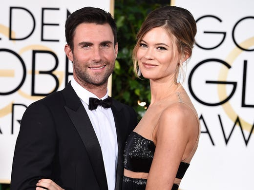 Adam Levine and Behati Prinsloo share daughters Gio