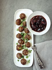 Syrian Meatballs with Cherries and Tamarind