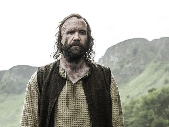 Rory McCann as the Hound in 'Game of Thrones' Season
