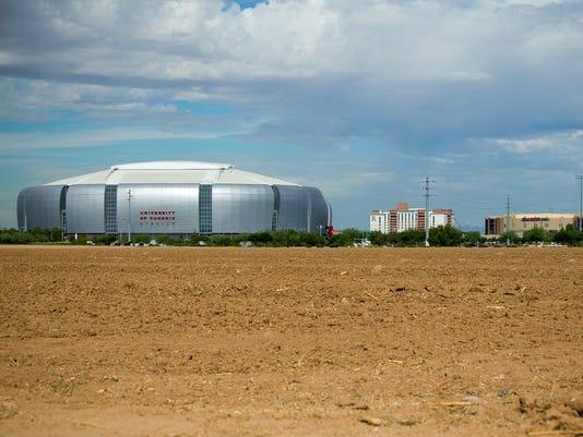 Stadium parking