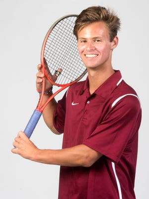 Pensacola High School's Stanley Dorion is the 2018 All-Area Boys tennis player