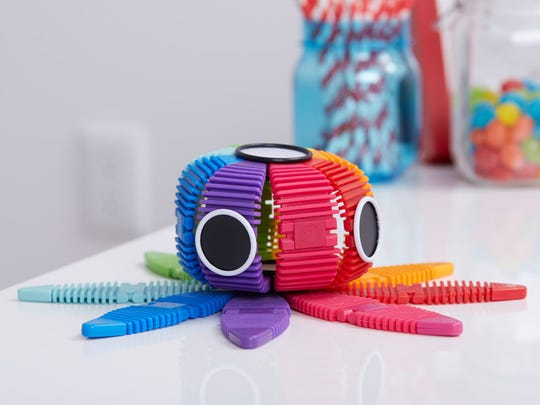 Magnaflex snap, bend, zip, and stick together to create animals, bugs, vehicles, and just about anything else your imagination can come up with.