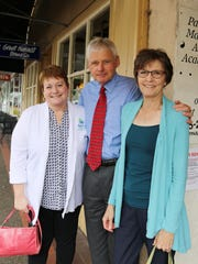 From left, Jennifer Chamberlain, Ron Mohr and Virginia Mohr want individuals to spread joy and change lives, even after they have passed on.