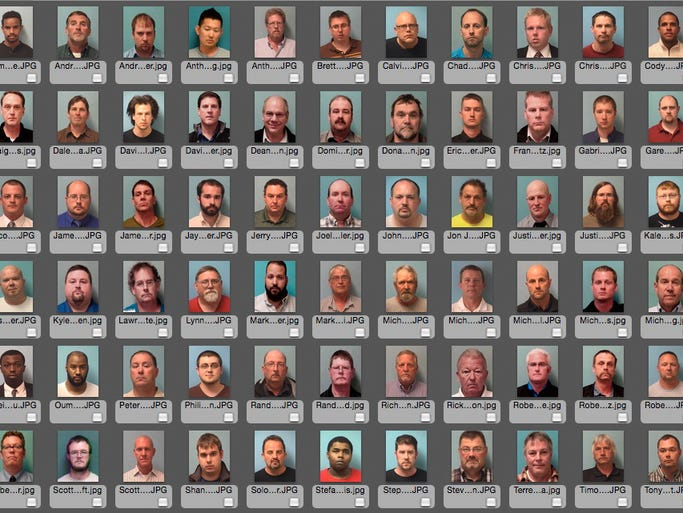 The following men have been convicted following Central